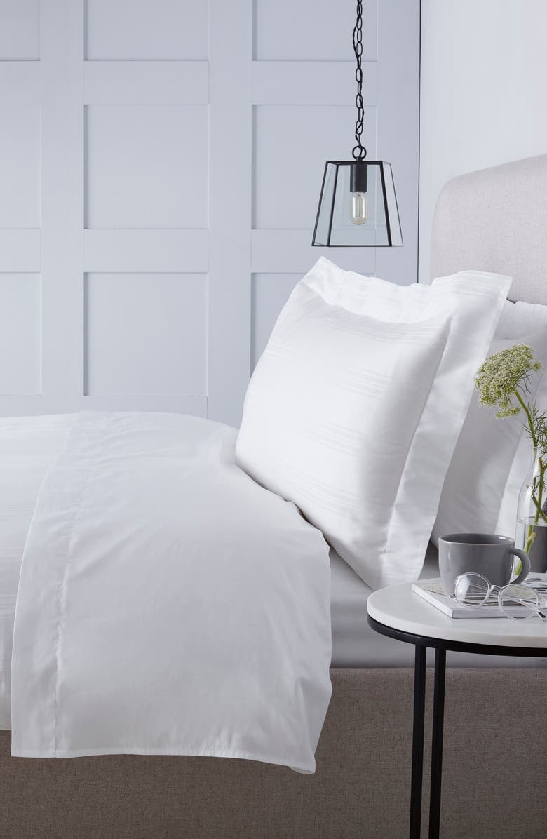 THE WHITE COMPANY 300 Thread Count Sheet Set, Main, color, WHITE