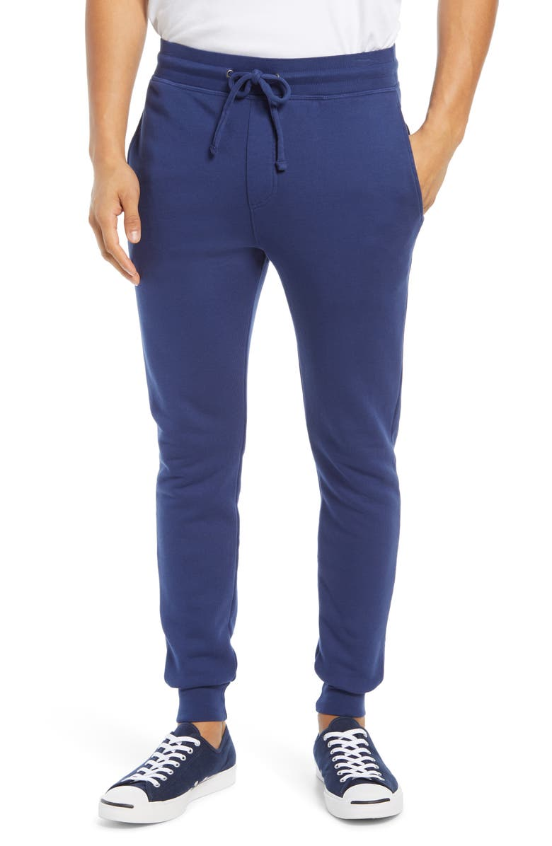 GOODLIFE Terry Cloth Joggers, Main, color, GOODLIFE NAVY