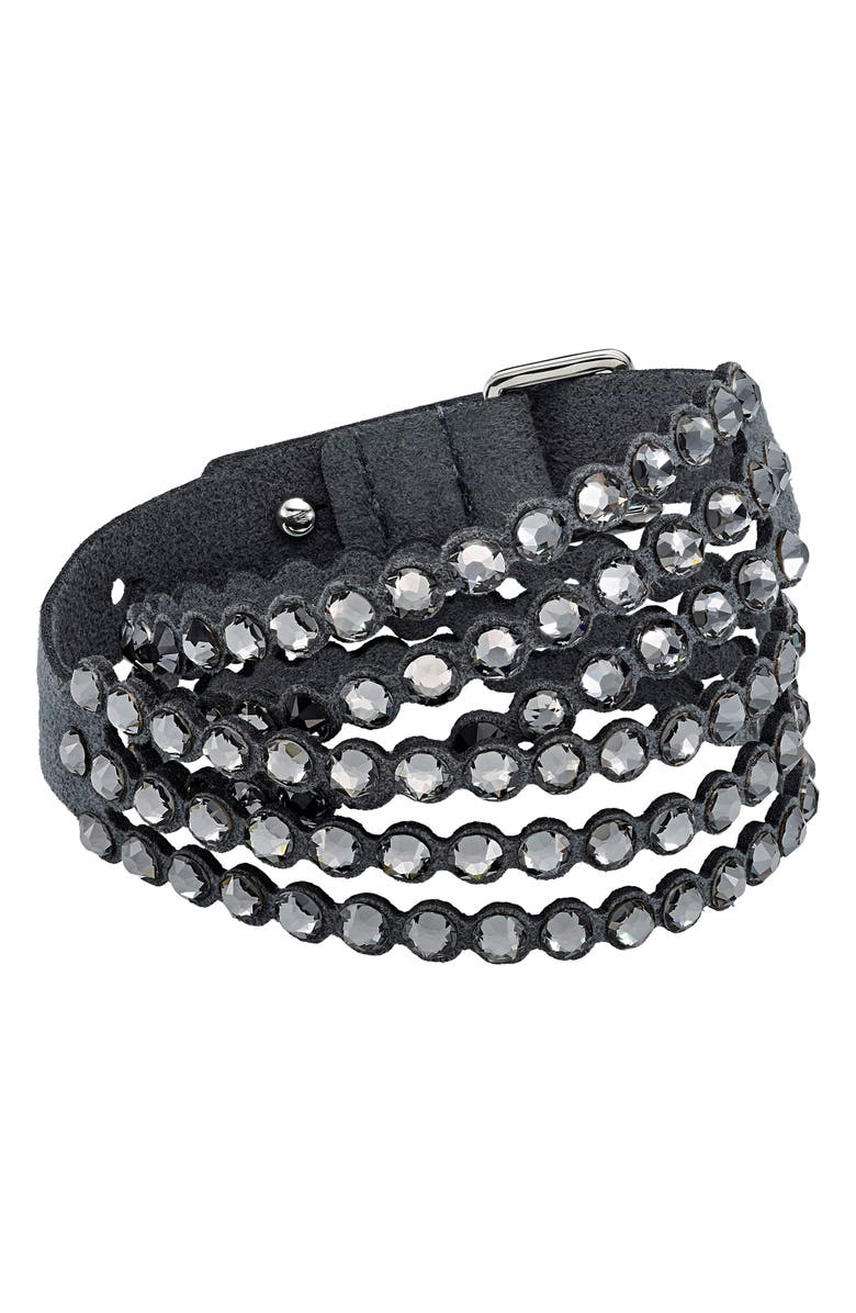 SWAROVSKI Power Collection Beaded Bracelet, Main, color, 001