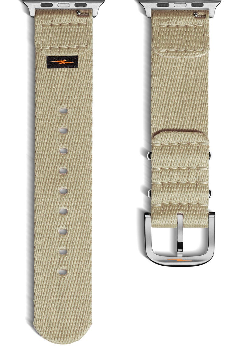 SHINOLA Nylon Apple Watch<sup>®</sup> Strap, Main, color, TAN