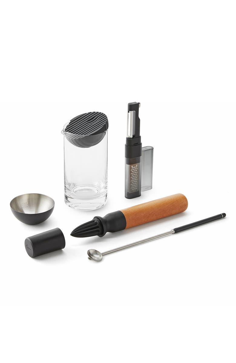 RABBIT 6-Piece Cocktail Mixing Kit, Main, color, ASSORTED