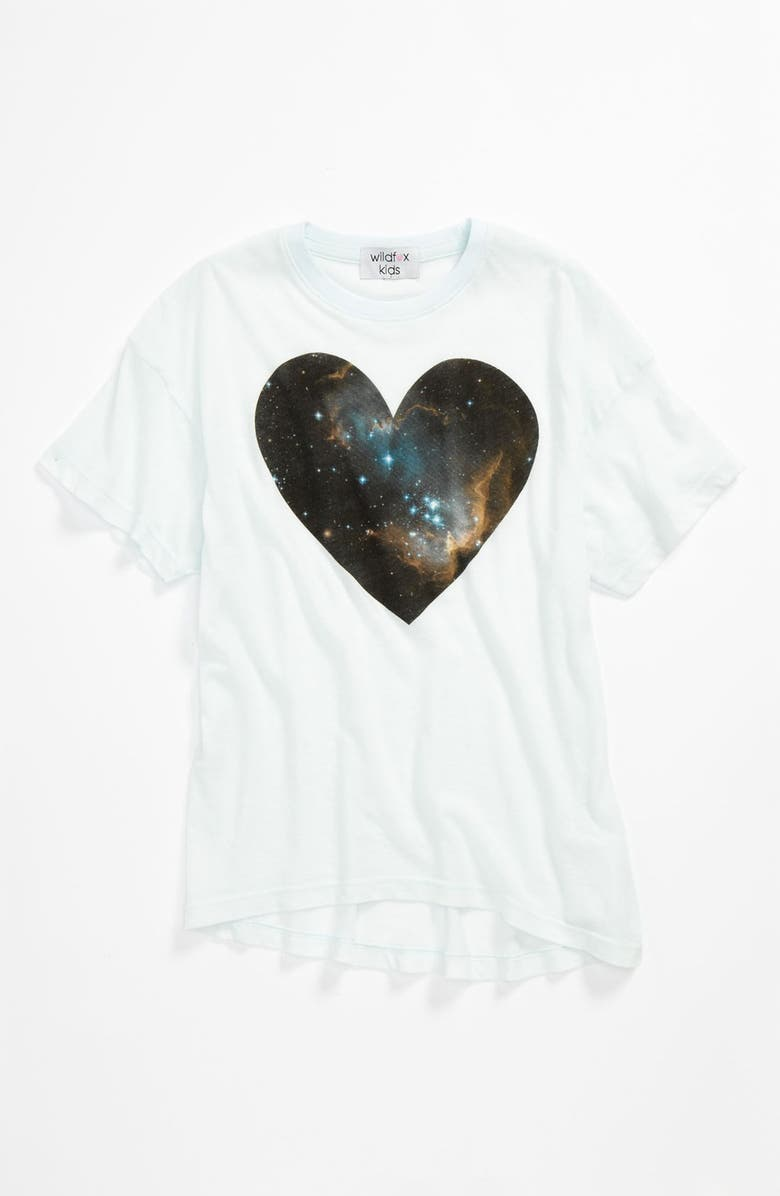 WILDFOX 'Guide to the Universe' Tee, Main, color, 332