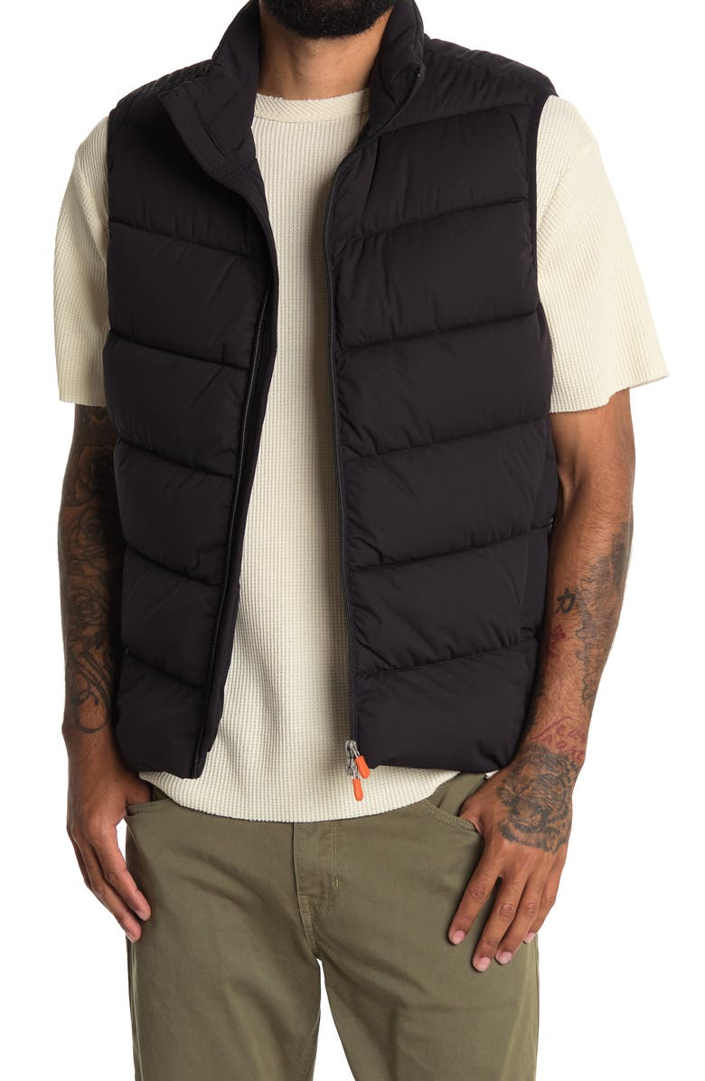 SAVE THE DUCK Puffer Vest, Main, color, BLACK