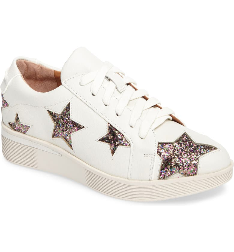 GENTLE SOULS BY KENNETH COLE Haddie Star Sneaker, Main, color, WHITE LEATHER