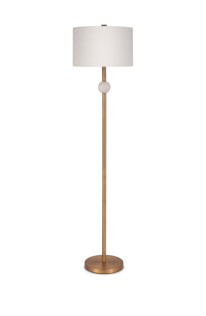 ADDISON AND LANE Lorna Floor Lamp - Antique Brass, Main, color, BRASS
