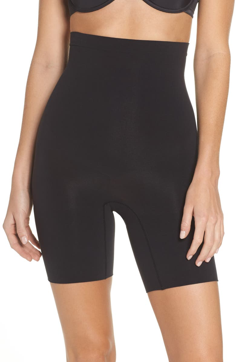SPANX<SUP>®</SUP> Higher Power Shorts, Main, color, VERY BLACK