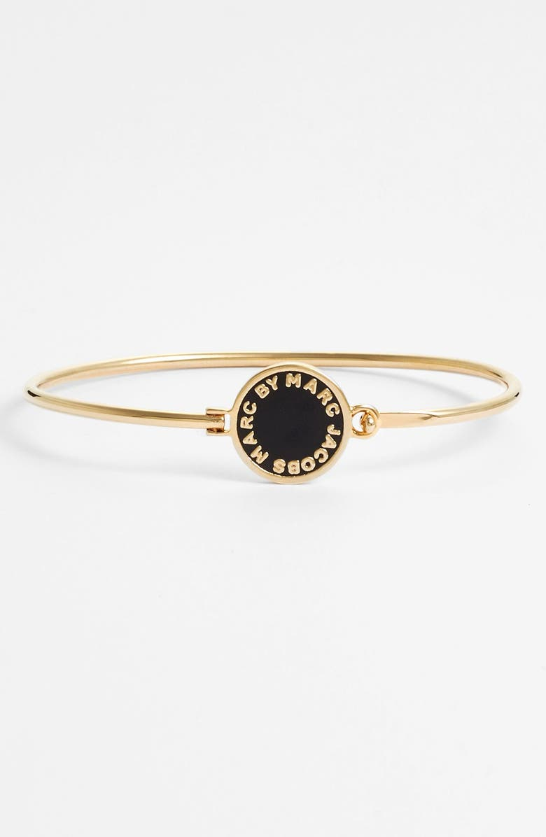 MARC BY MARC JACOBS 'Classic Marc' Disc Skinny Bangle, Main, color, 062