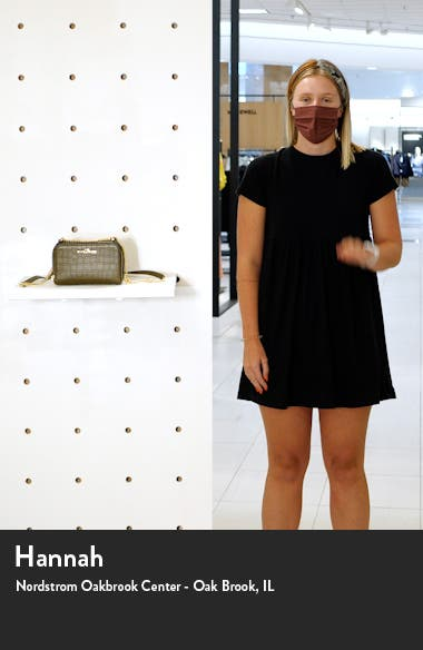 The Marc Jacobs The Croc Embossed Leather Crossbody Bag, sales video thumbnail