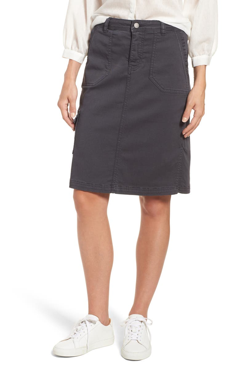 CASLON<SUP>®</SUP> Twill Utility Skirt, Main, color, 030