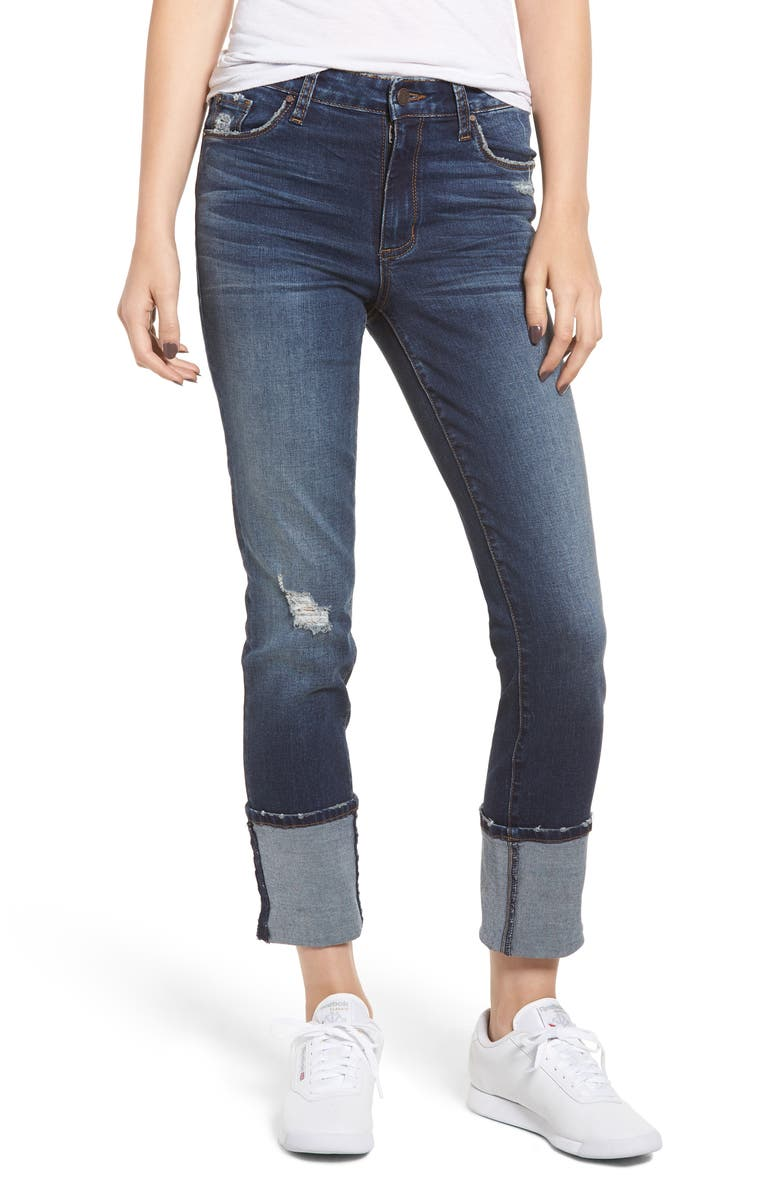 BP. Cuffed Skinny Jeans, Main, color, 401