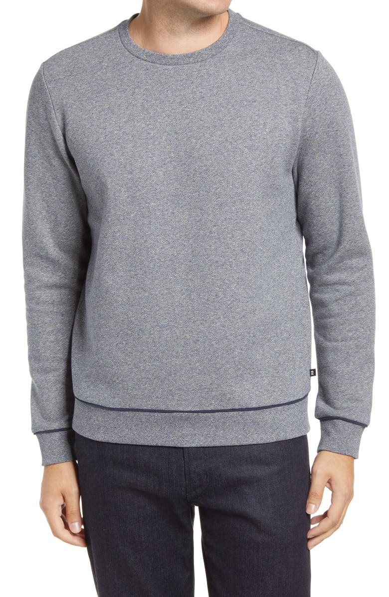 ROBERT BARAKETT t Ferndale Crewneck Sweatshirt, Main, color, GREY