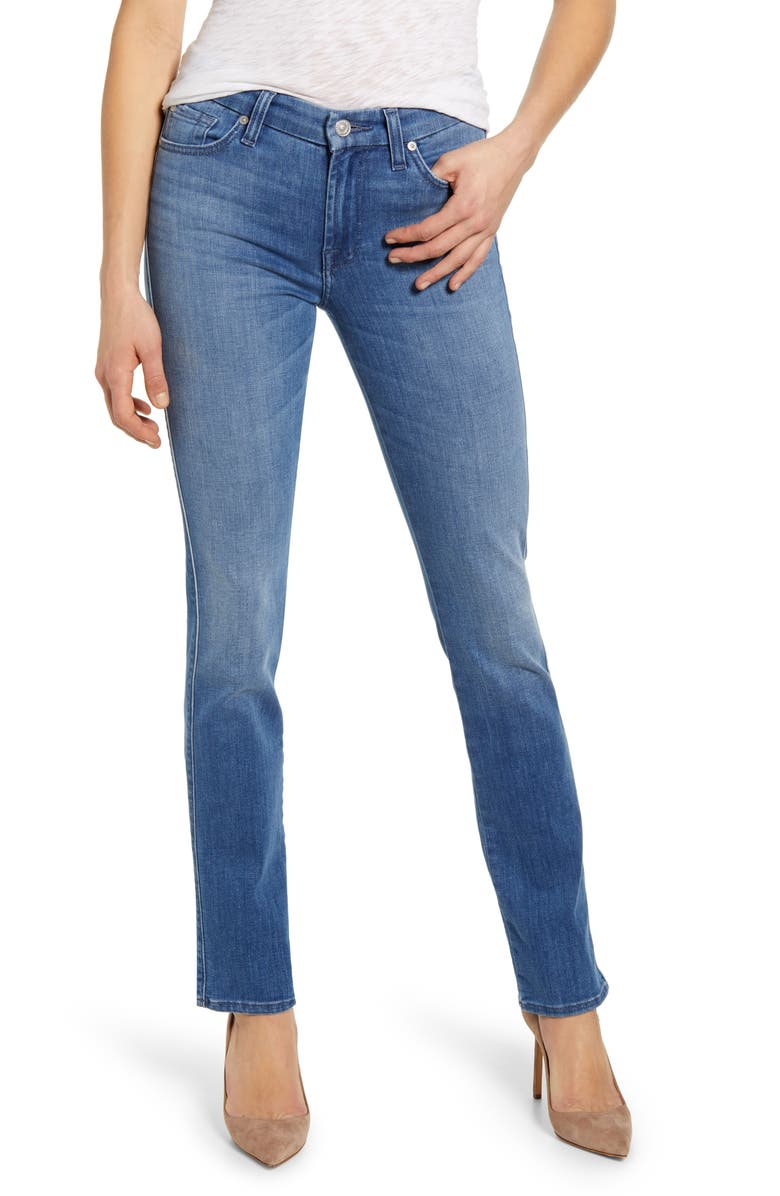 7 FOR ALL MANKIND<SUP>®</SUP> Kimmie Straight Leg Jeans, Main, color, SHORELINE DRIVE
