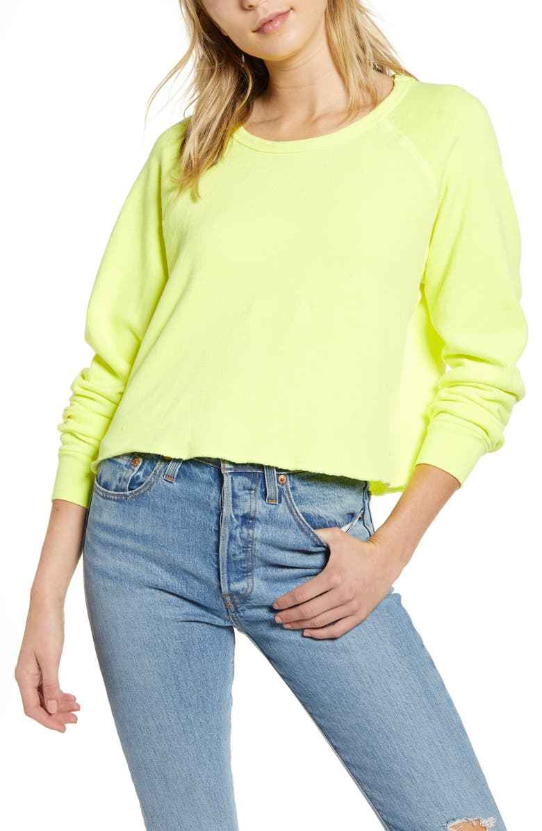 PST BY PROJECT SOCIAL T Raw Edge Sweatshirt, Main, color, 700