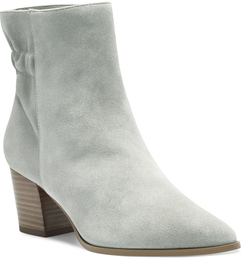 SOLE SOCIETY Maeryn Pointed Toe Bootie, Main, color, MINK SUEDE