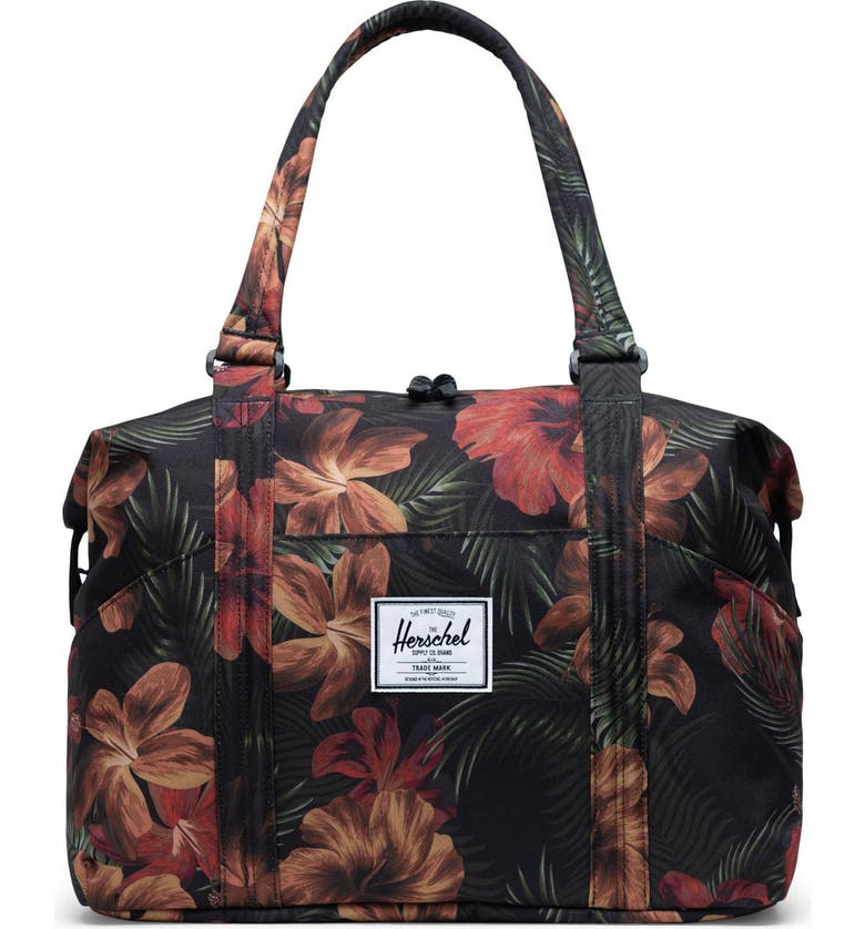 HERSCHEL SUPPLY CO. Strand Duffle Bag, Main, color, TROPICAL HIBISCUS