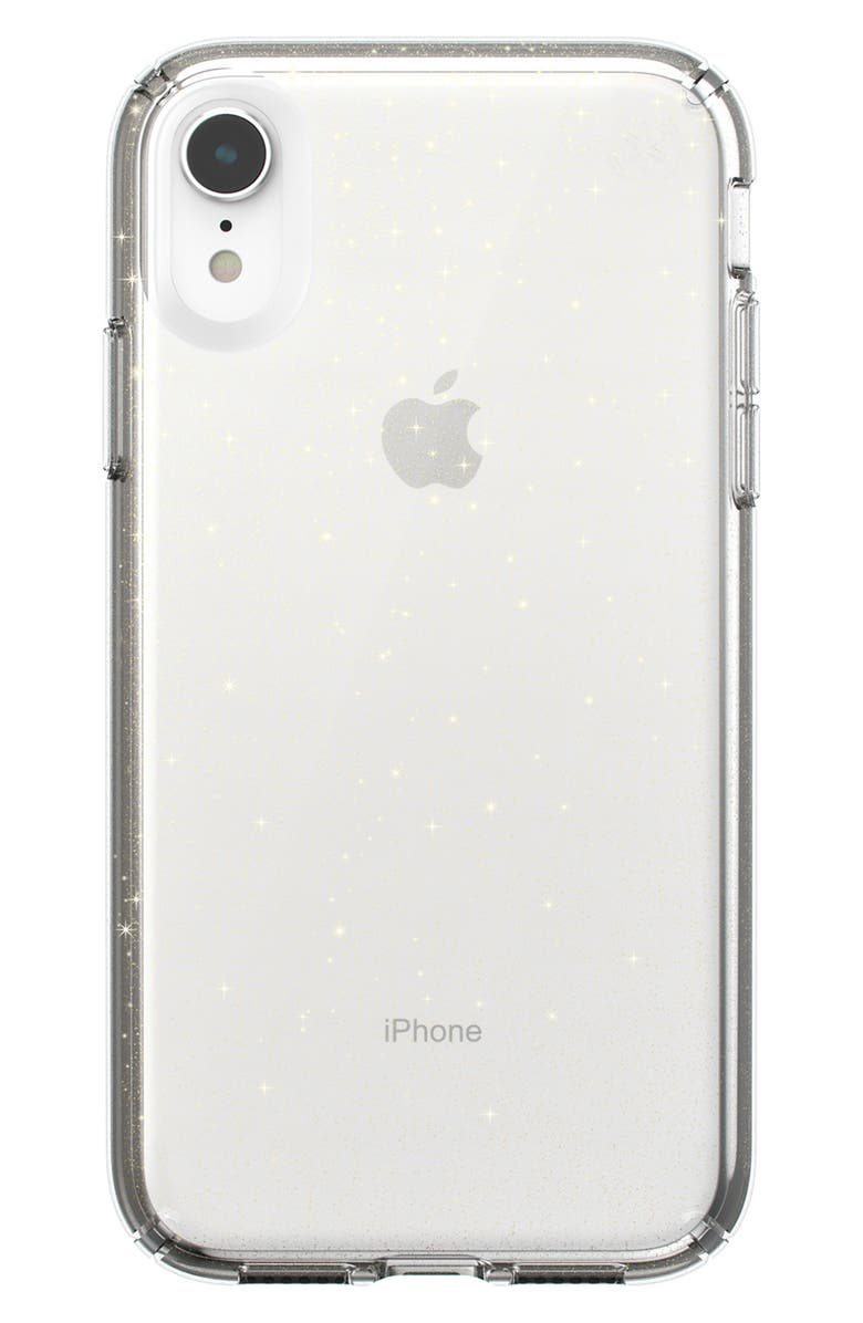 SPECK Presidio Clear iPhone XR or XS Max Case, Main, color, 960