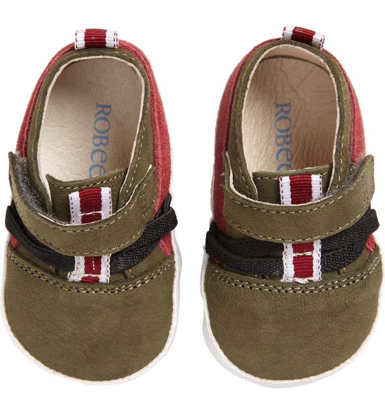 ROBEEZ<SUP>®</SUP> Anthony Crib Sneaker, Main, color, 300
