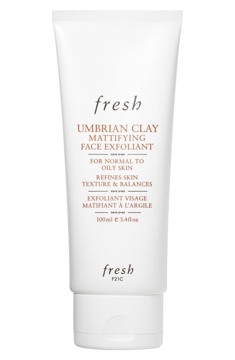 FRESH<SUP>®</SUP> Umbrian Clay Mattifying Face Exfoliant, Main, color, 000