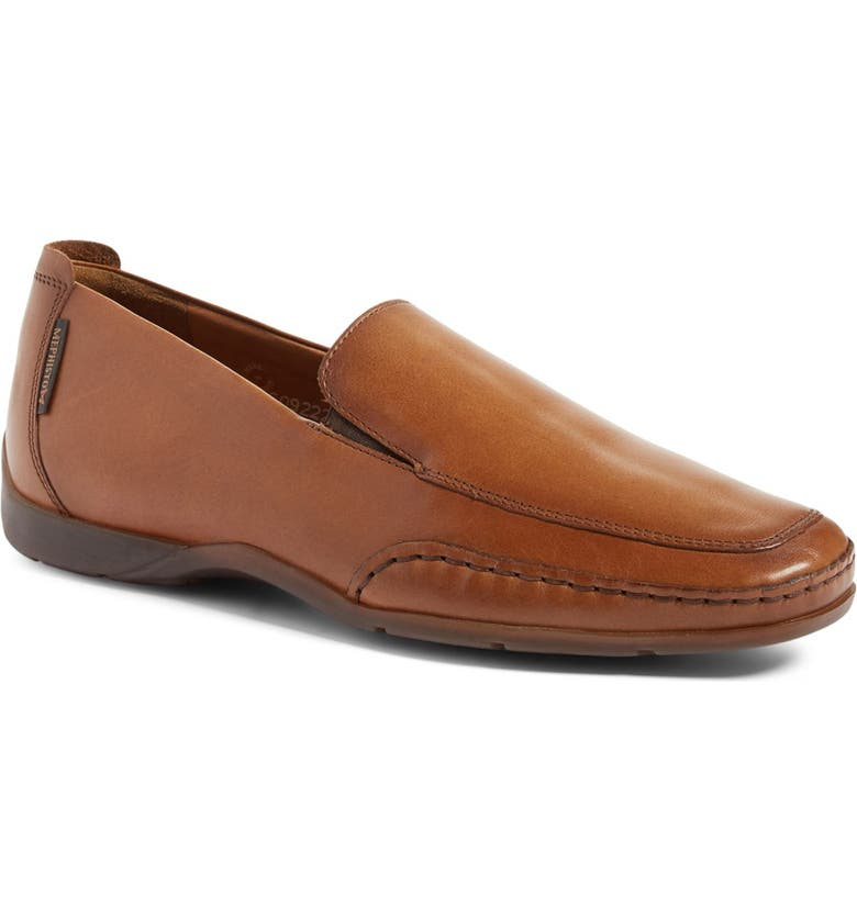 MEPHISTO Edlef Slip-On, Main, color, HAZELNUT PALACE LEATHER