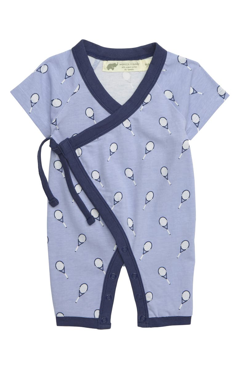 MONICA + ANDY Sweet Baby Wrap Bodysuit, Main, color, 400