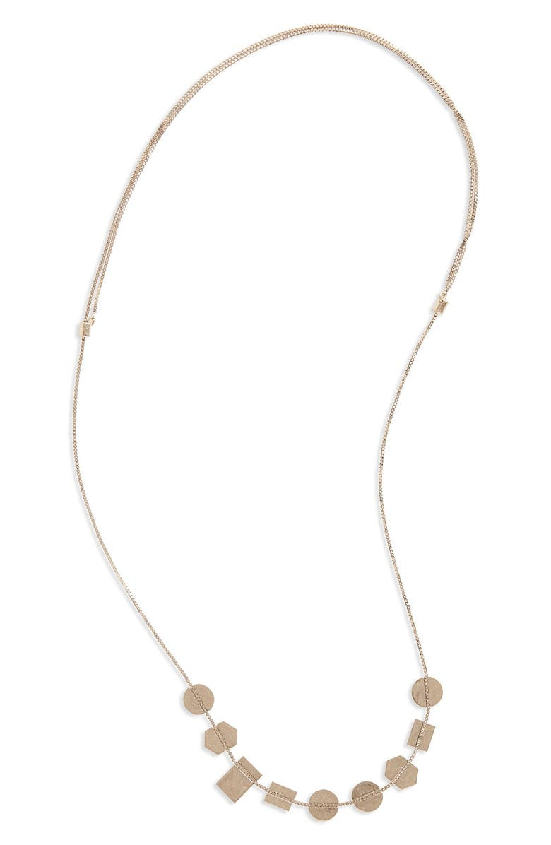 MADEWELL Holding Pattern Necklace, Main, color, 040