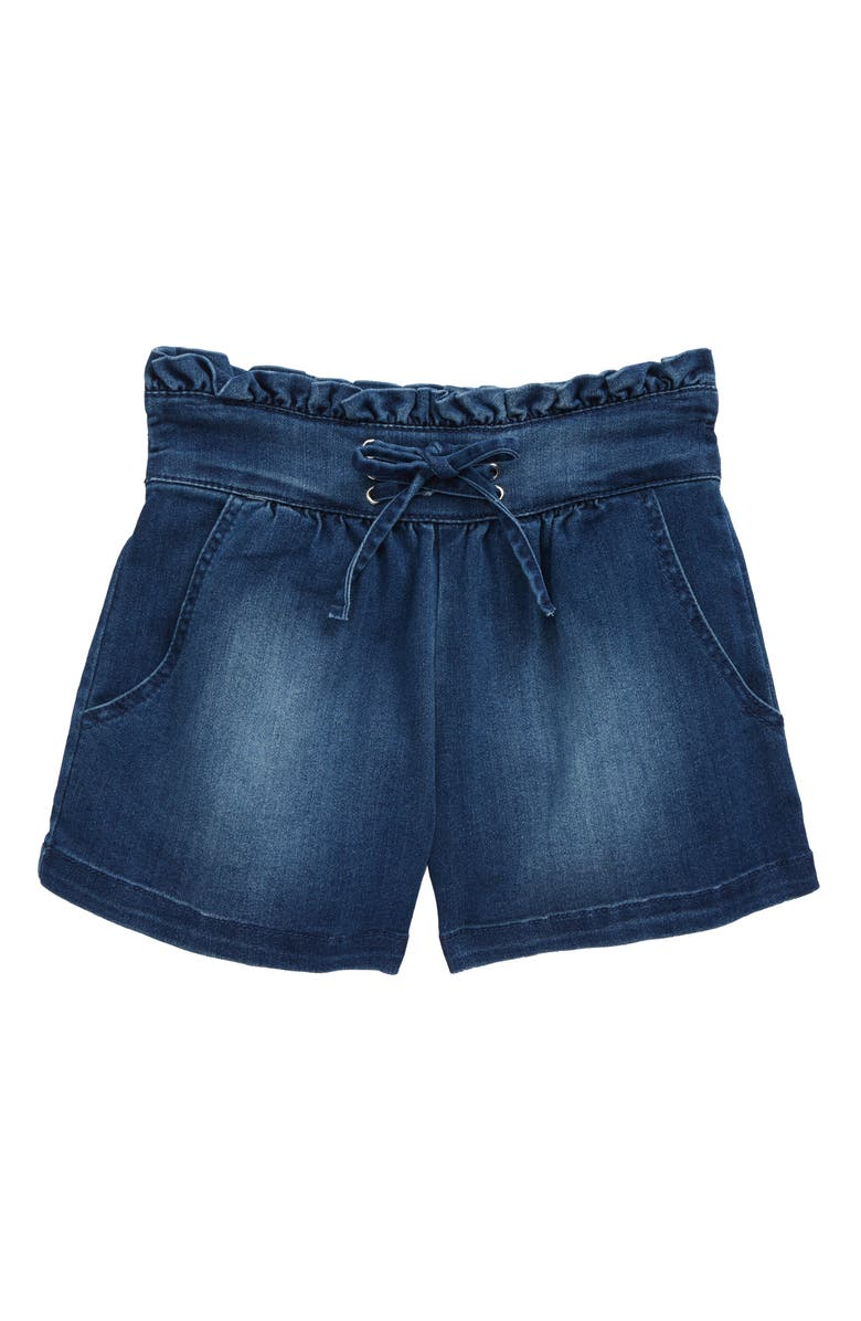 HABITUAL GIRL Pull-On Shorts, Main, color, MED STONE