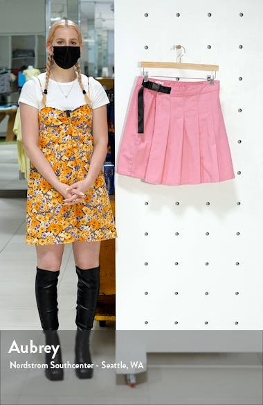 Be Proud by BP. Pride Gender Inclusive Pleated Cotton Twill Skirt, sales video thumbnail