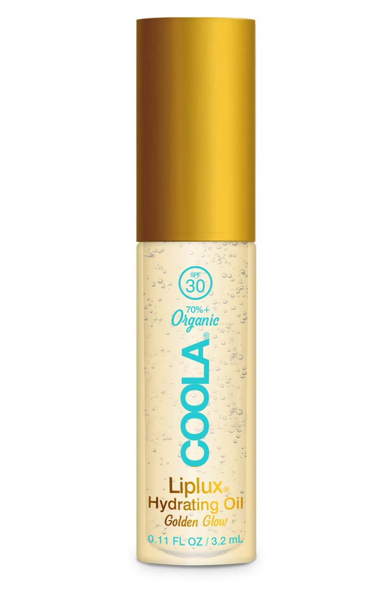 COOLA<SUP>®</SUP> Classic Liplux<sup>®</sup> Organic Hydrating Lip Oil Sunscreen SPF 30, Main, color, 000