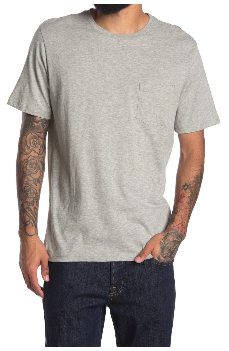 THE NORMAL BRAND Sunset Graphic Crew Neck T-Shirt, Main, color, GREY