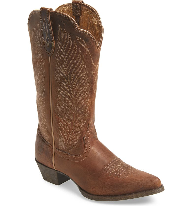 ARIAT Round-Up Johanna Western Boot, Main, color, 200