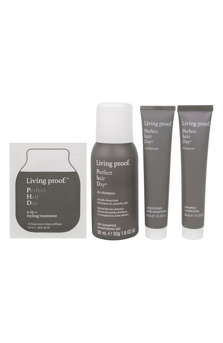 LIVING PROOF<SUP>®</SUP> Healthy + Strong Mini Transformation Kit, Main, color, No Color