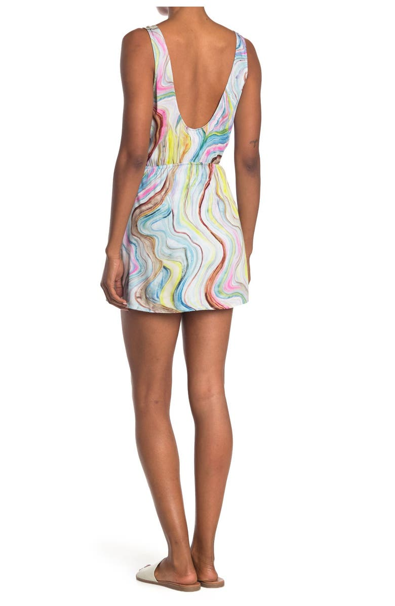 THE BIKINI LAB New Wave Cover Up Dress, Main, color, MLT