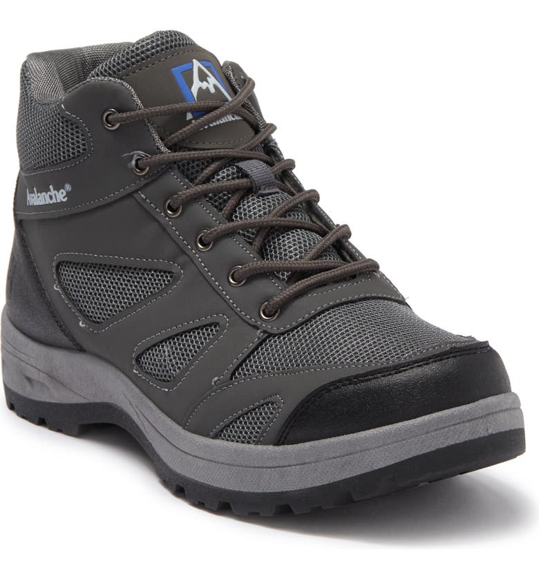 AVALANCHE Classic Hiking Boot, Main, color, GREY/BLUE