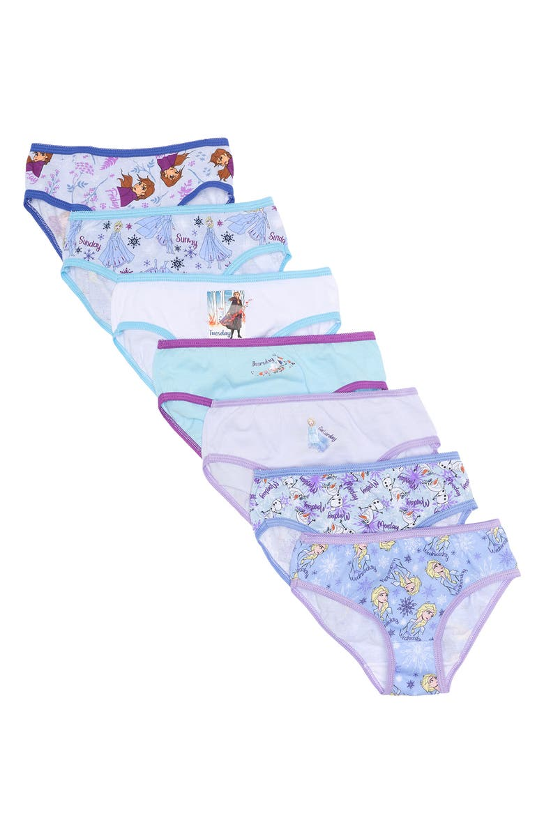 HANDCRAFT Frozen Printed Briefs - Pack of 7, Main, color, MULTI