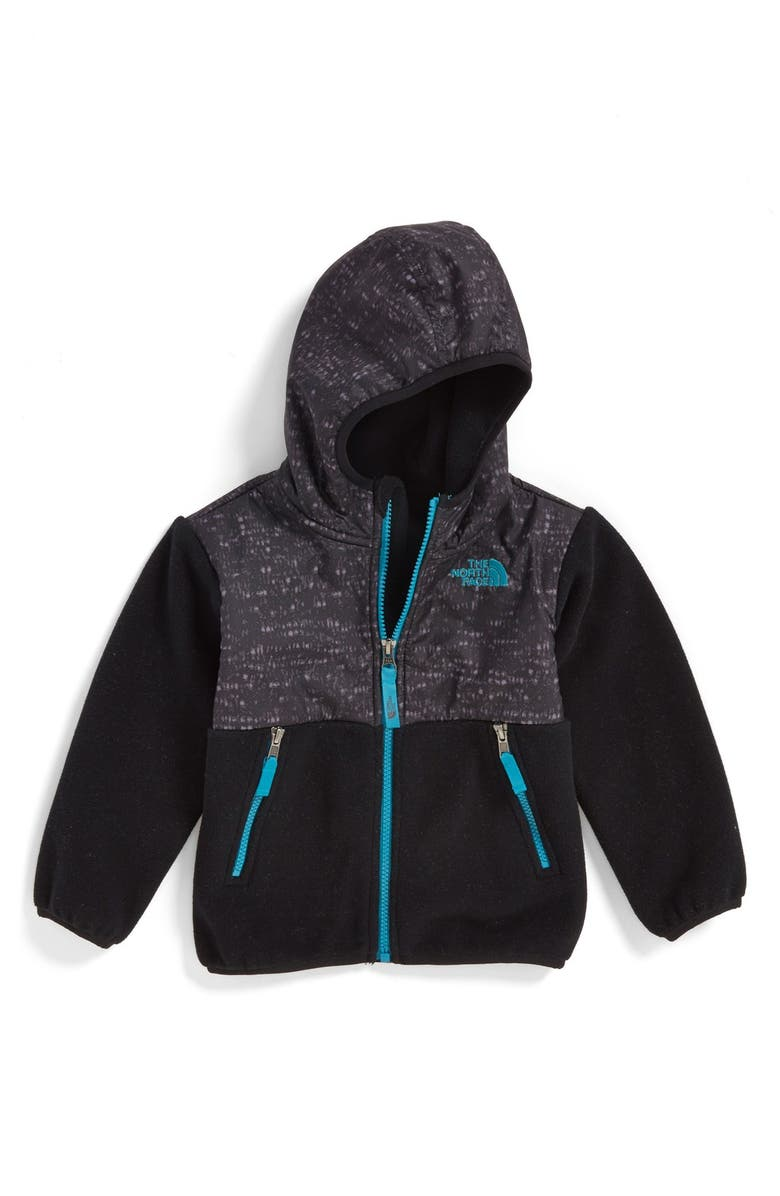 THE NORTH FACE 'Denali' Water Resistant Polartec<sup>®</sup> Hooded Jacket, Main, color, 001