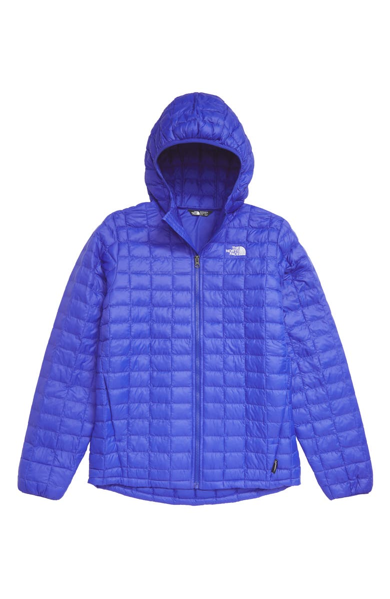 THE NORTH FACE ThermoBall<sup>™</sup> Eco Water Repellent Parka, Main, color, TNF BLUE