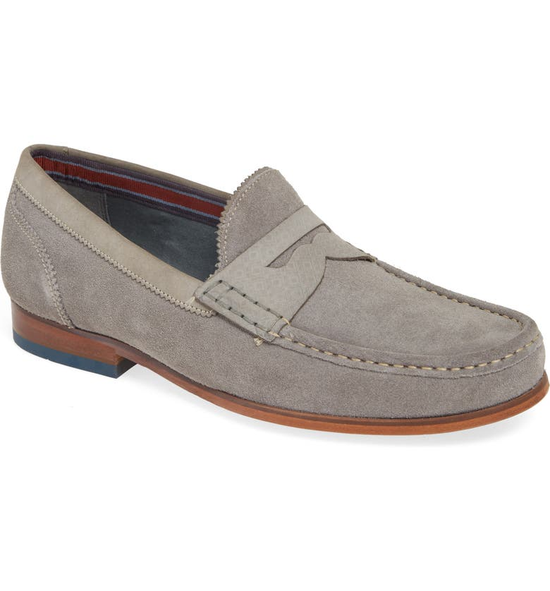 TED BAKER LONDON Xapon Penny Loafer, Main, color, 070