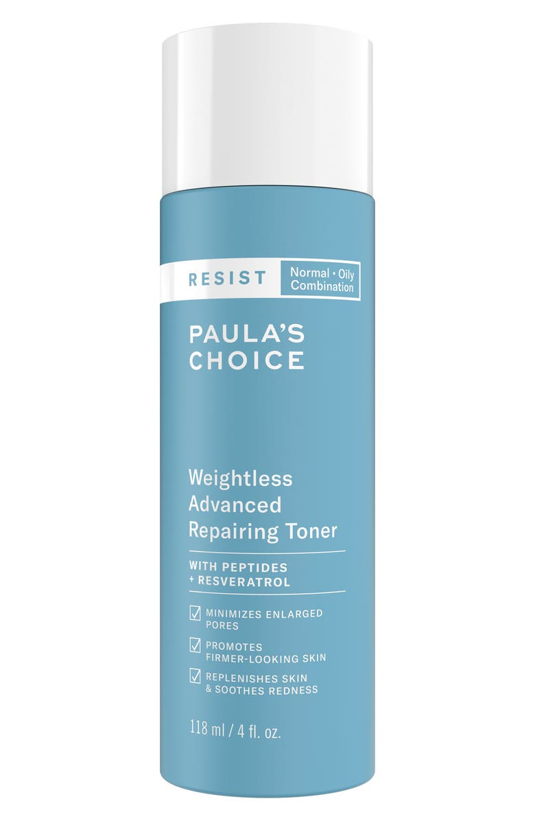 PAULA'S CHOICE Resist Weightless Advanced Repairing Toner, Main, color, No Color
