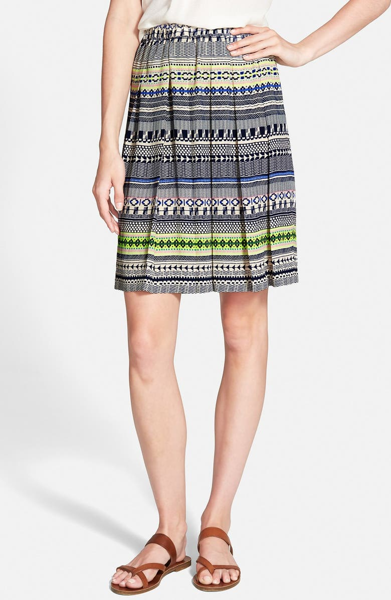 ACE DELIVERY Pleated Skirt, Main, color, 460