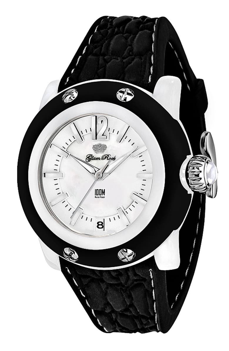 GLAM ROCK 'Miss Miami Beach' Watch, Main, color, 001