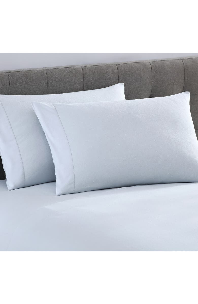 UGG<SUP>®</SUP> Gracen Luxury Flannel Sheet Set, Main, color, STONE