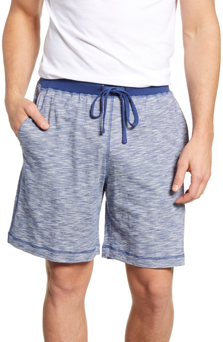 DANIEL BUCHLER Slub Cotton Pajama Shorts, Main, color, 400