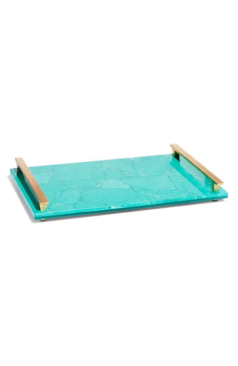 KENDRA SCOTT Stone Slab Tray, Main, color, 340