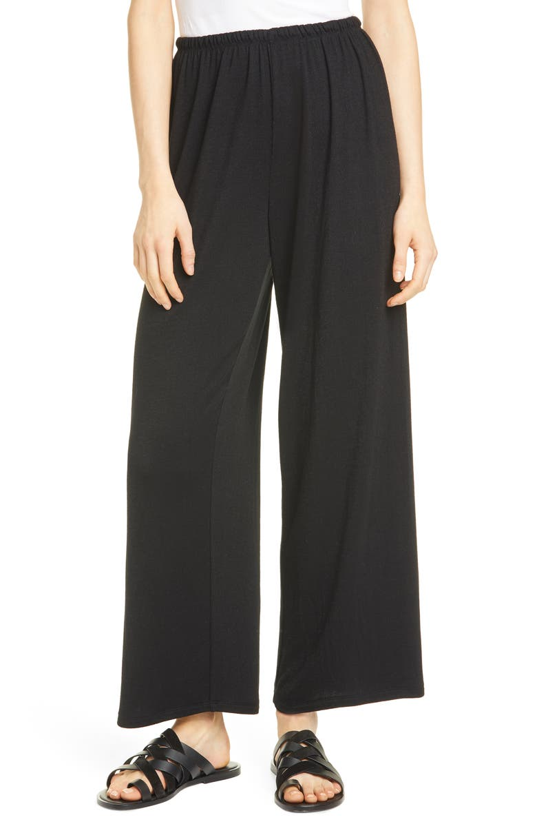 VINCE Wide Leg Pants, Main, color, 001