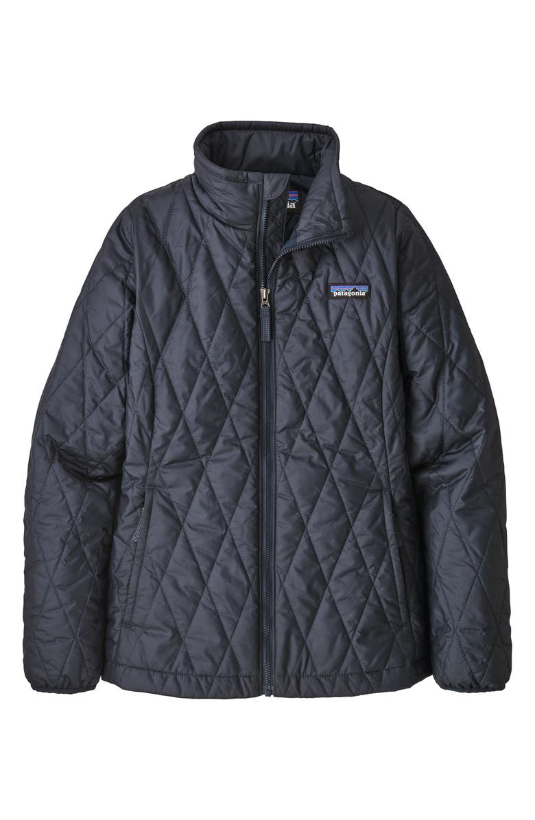 PATAGONIA Nano Puff<sup>®</sup> Quilted Water Resistant Jacket, Main, color, NEW NAVY