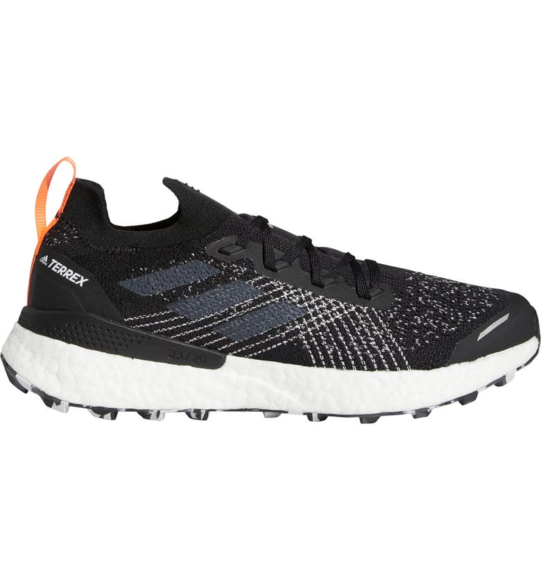 ADIDAS Terrex Two Ultra Parley Trail Running Shoe, Main, color, CORE BLACK/ GREY/ BLUE SPIRIT