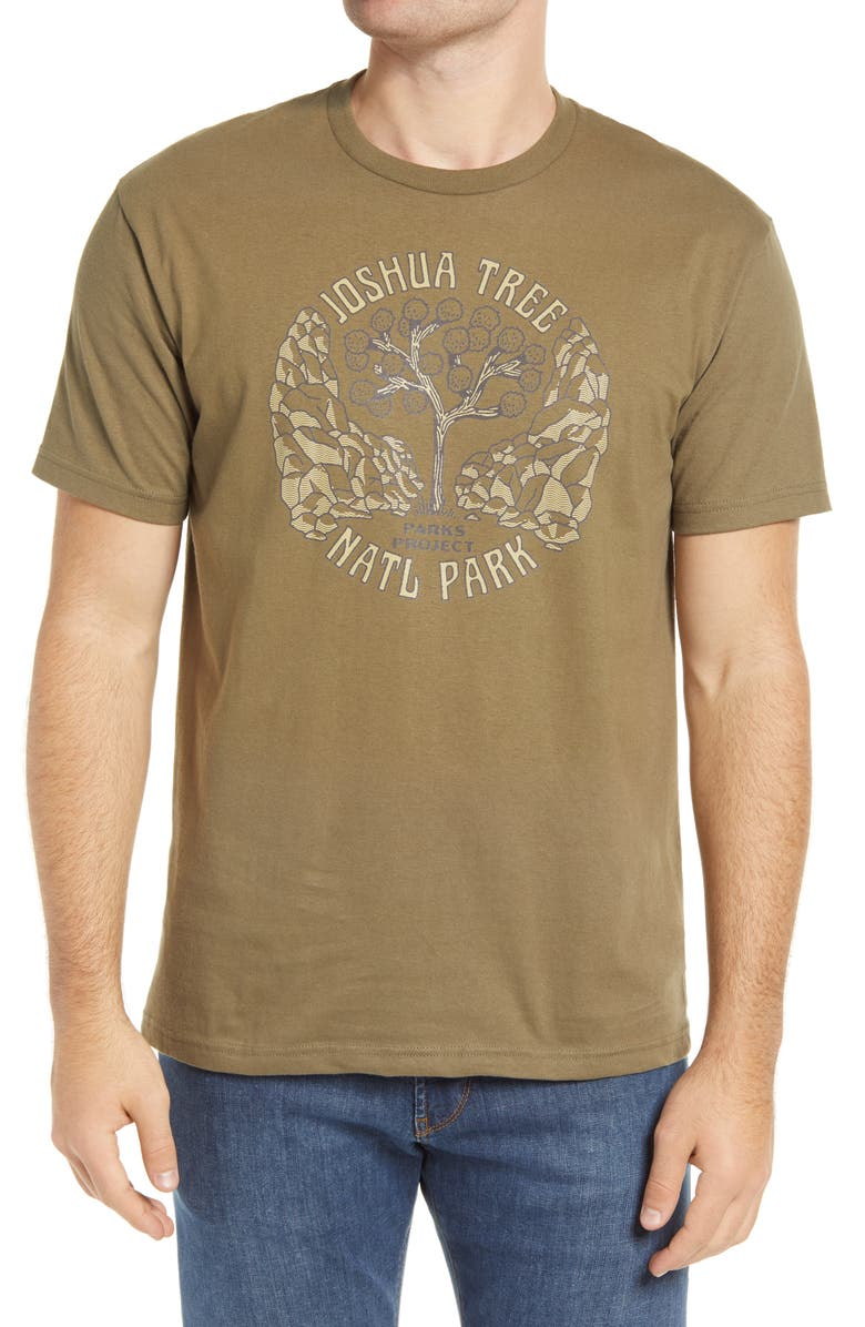 PARKS PROJECT Joshua Tree Symmetry Graphic Tee, Main, color, 301