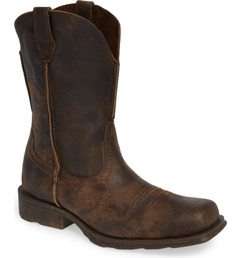 ARIAT Rambler Boot, Main, color, ANTIQUE GREY LEATHER