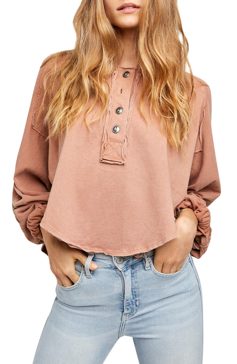 FREE PEOPLE Melodi Henley, Main, color, 200