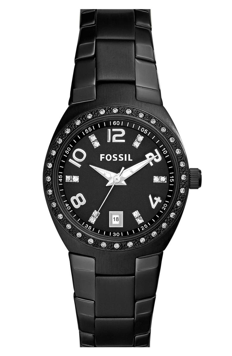 FOSSIL Crystal Dial Watch, 28mm, Main, color, 001